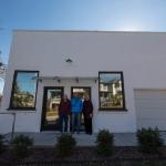 The front of the bakery - where we operated from 1956 to 2017. Buford(father-RIP), Chris Reynolds, and Barbara(mother)